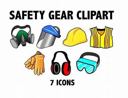 Safety Workshop Gear Clipart Construction Zone Protection