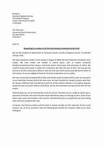 Sample Letter Of Reference Rector Letter