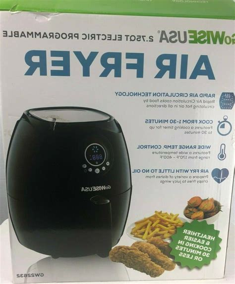 air fryer brand qt gowise usa