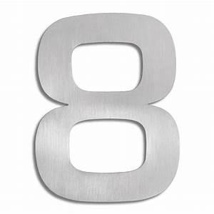 Numéro Maison Design : signo chiffre 8 blomus numro de maison inox ~ Premium-room.com Idées de Décoration