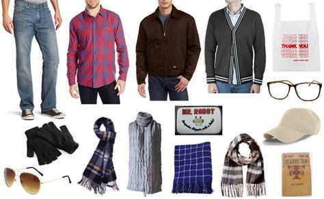 grey cardigan mr costume diy guides for
