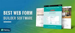5 web form builders create booking order payment forms With document builder software
