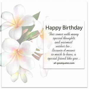Images of birthday greeting cards for special friend golfclub happy birthday a special friend like you free birthday m4hsunfo