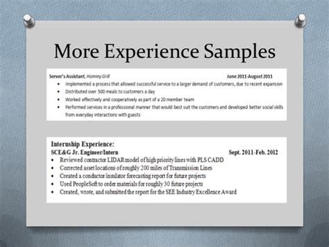 Career Center Resume Workshop by Career Center Resume 101 Workshop