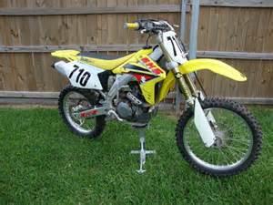 suzuki motocross bikes for sale 2005 suzuki rmz 450 dirt bikes for sale in new orleans