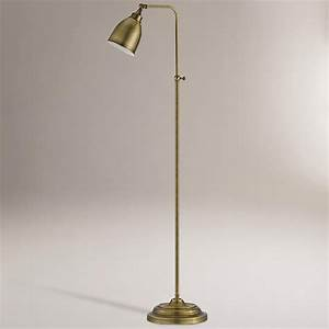 16 best images about lamps on pinterest antique brass With library task floor lamp bronze