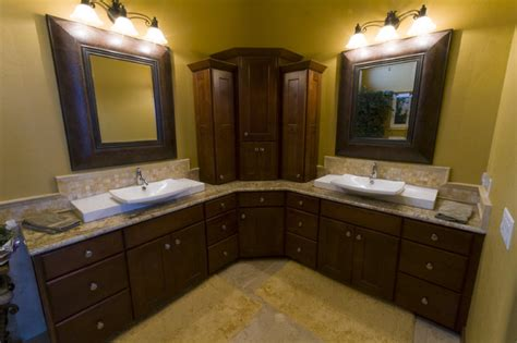 L Shaped Bathroom Vanity Ideas by Webber Master Bath Eclectic Bathroom Denver By