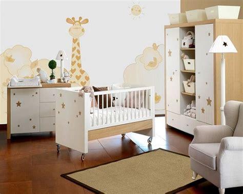 chambre de bébé mixte idée décoration chambre bébé mixte