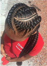 Black Girl Braided Hairstyles for Kids