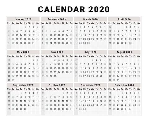 editable  calendar printable template calendar