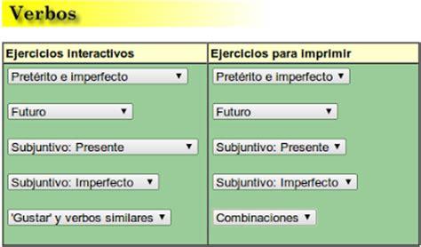 Mi Aula Bogado Tiempos Verbales(ejercicios Interactivos Y