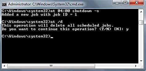 windows shutdown timer  vista
