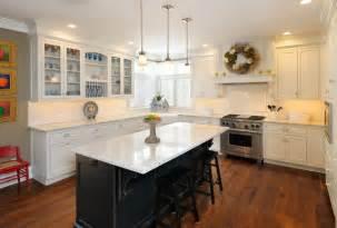 white kitchen black island white kitchen with black island traditional kitchen