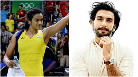 'you Are Killing It' Pv Sindhu Meet Ranveer Singh, Check