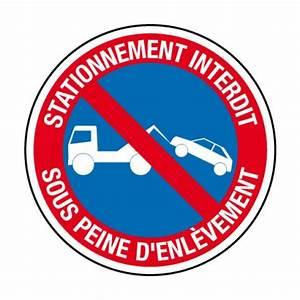 Panneau Interdit De Stationner : ci20 panneau stationnement interdit sous peine enl vement ~ Dailycaller-alerts.com Idées de Décoration
