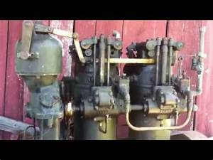 1925 Cummins Model F Two Cylinder Diesel Engine