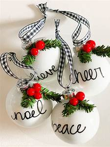 Easy, Diy, Personalized, Christmas, Ornaments, -, Thrifty, Style, Team