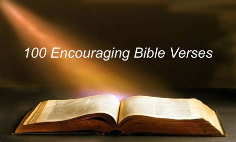 These encouraging bible verses provide strength when life presents challenges. EagleSoaringHigher: 134. 100 Encouraging Bible Verses