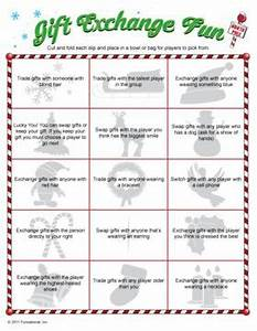 Gift exchange game with clues for any Christmas party