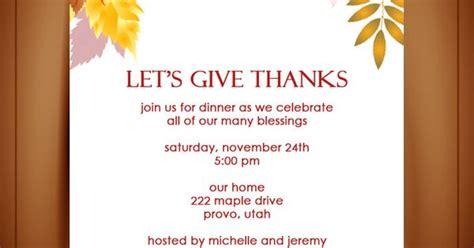 autumn invitation template simple  lovely plenty