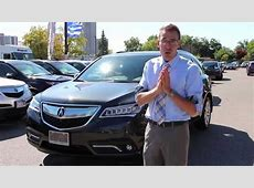 2015 Acura MDX Review YouTube