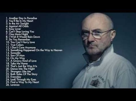 phil collins best songs 23 best musique phil collins images on