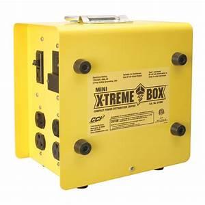 Cci 30 Amp  U0026 50 Amp Yellow Mini Extreme Portable Power