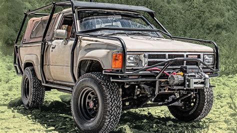 survival truck cer the unbreakable nature of a first generation 1986 toyota