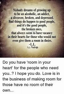 Funny Growing U... Vacant Heart Quotes