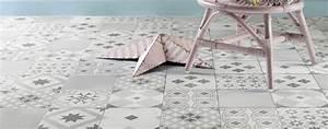 Dalle Pvc Imitation Carreaux De Ciment : les carreaux de ciment inspirent la d co petite lyonnaise ~ Dailycaller-alerts.com Idées de Décoration