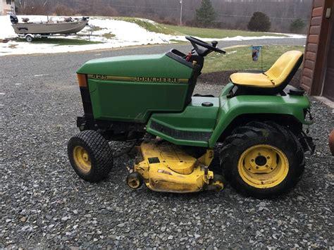 deere 425 lawn tractor ebay