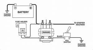 Chevy Alternator Wiring Diagram For Race Car