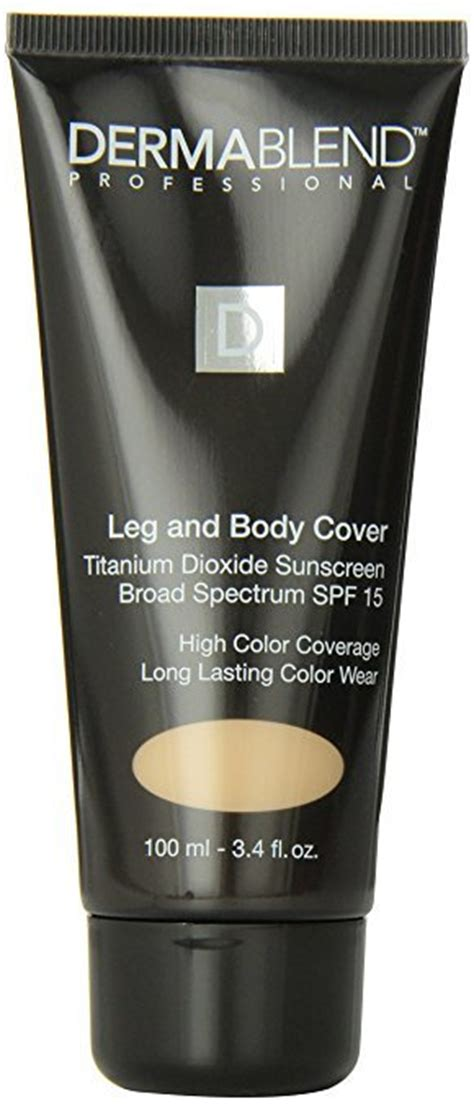 Dermablend Leg And Body Cover Makeup Reviews In Concealer