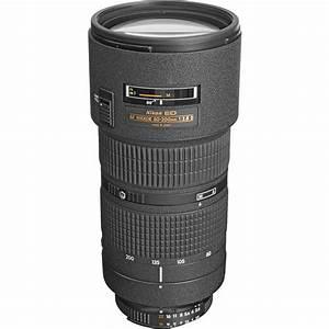 Nikon Af Zoom-nikkor 80-200mm F  2 8d Ed Lens