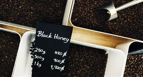 In the black honey and red honey processes, the beans are dried with all or nearly all of the fruit pulp adhering to the beans. The Rare and Intensive Process of Black Honey Coffee