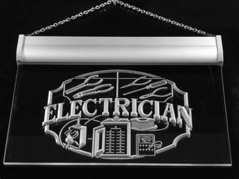 tnt journeyman electrician gift lighted neon sign
