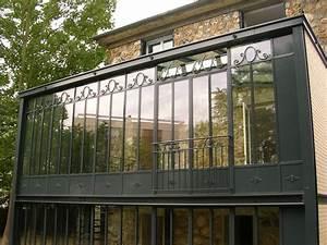 Veranda Style Atelier : photo v randa deux tages de style atelier d 39 artiste greenhouse conservatory orangery ~ Melissatoandfro.com Idées de Décoration