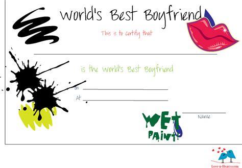 printable worlds  boyfriend certificates