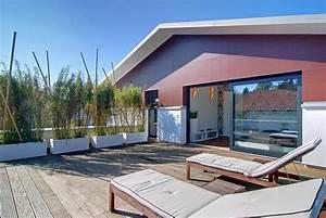 Fertighaus Mit Dachterrasse : design fertighaus dachterrasse mit bagkirai holz bild 5 ~ Lizthompson.info Haus und Dekorationen
