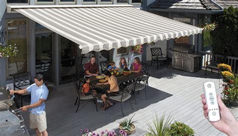 sunsetter motorized  motorized xl awnings