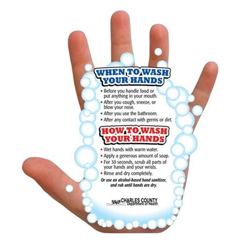 Handwashing Guide Magnet  Personalization Available