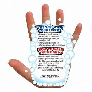 Hand-washing Guide Magnet