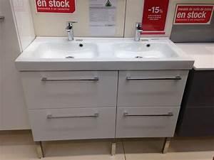 meuble double vasque salle de bain leroy merlin maison With meuble double vasque leroy merlin