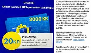 Ikea presentkort bluff 2017