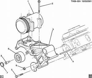 89022559  C  Compressor Drive  Idler  Pulley  A  C Cmpr