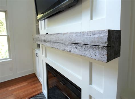 how install a barn beam mantel decor and the