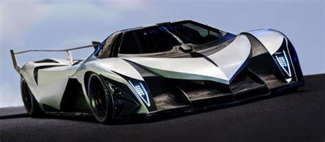 Devel Sixteen V16 Engine Capable Of Producing 5000