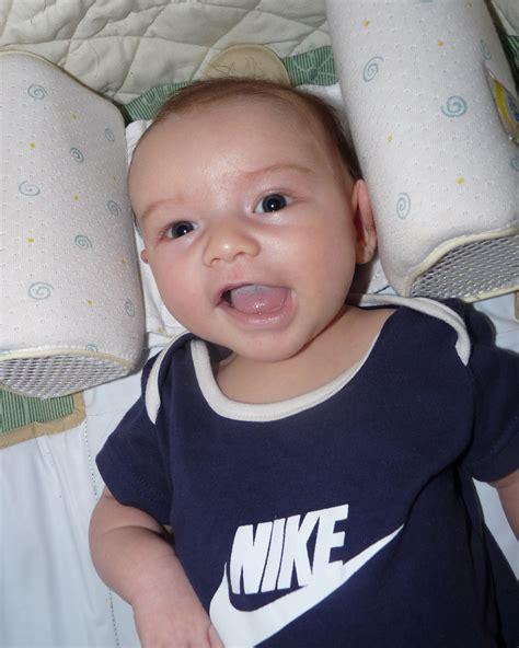 Filea Photo Of An 85weekold Baby Smilingjpg