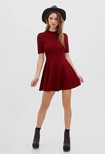 casual red dress outfits Naf Dresses