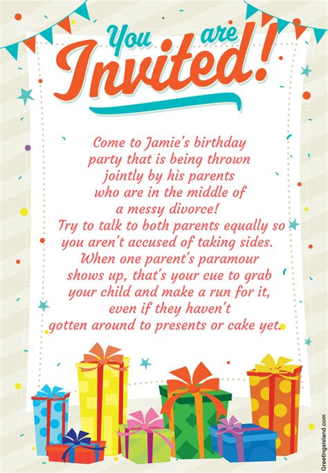happy birthday invitations  boys